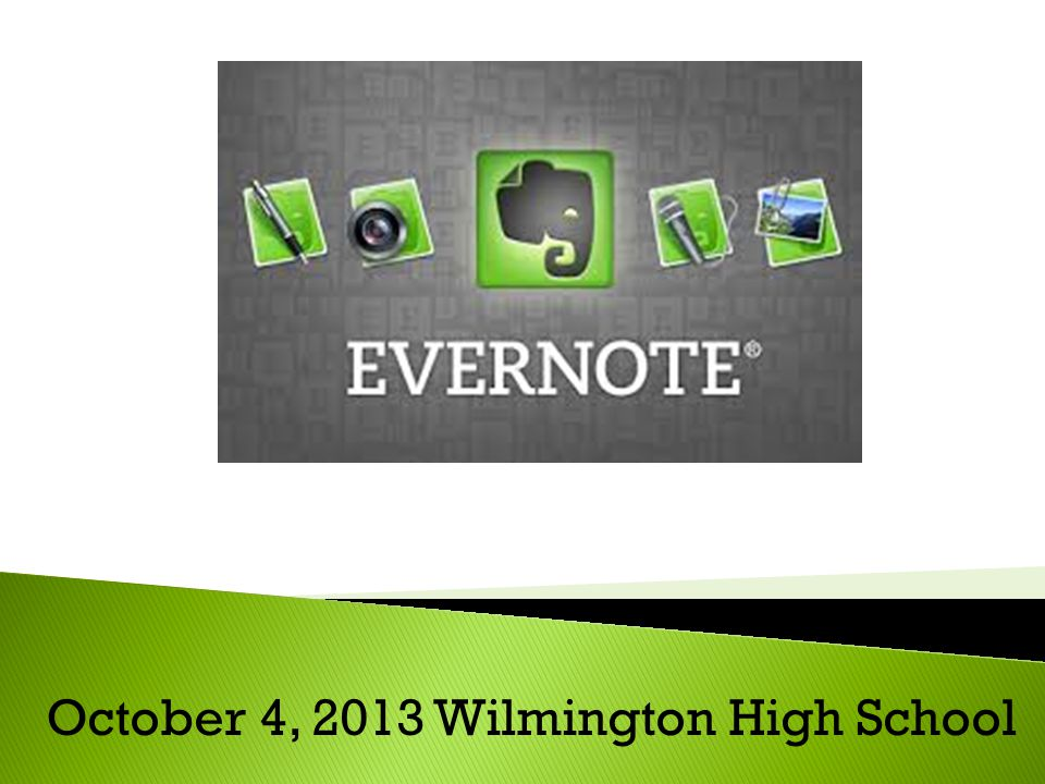 What is Evernote.