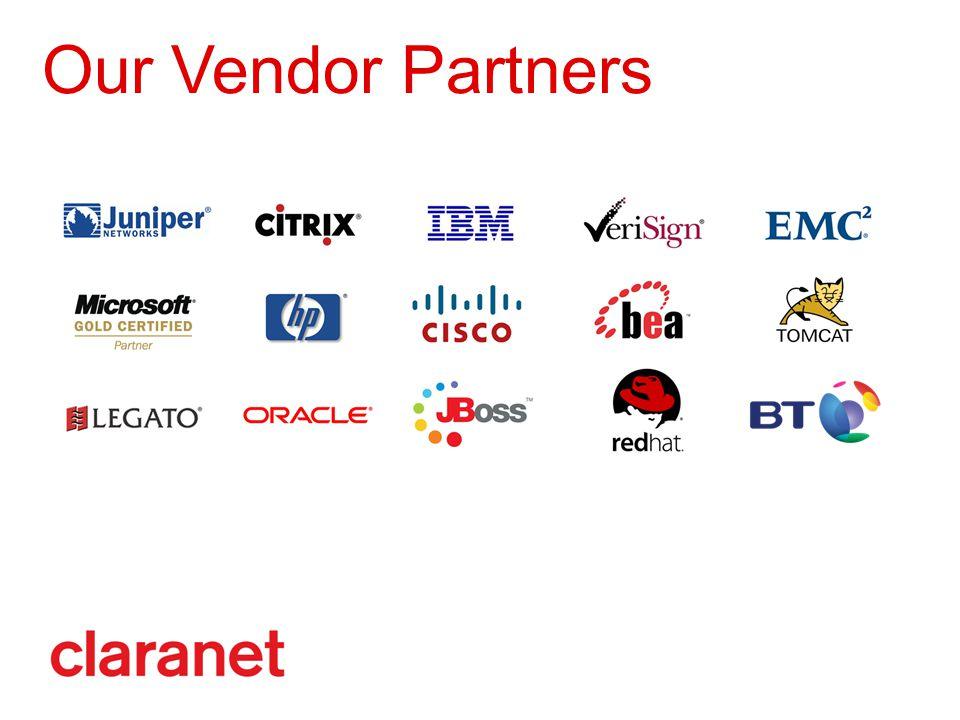 Our Vendor Partners