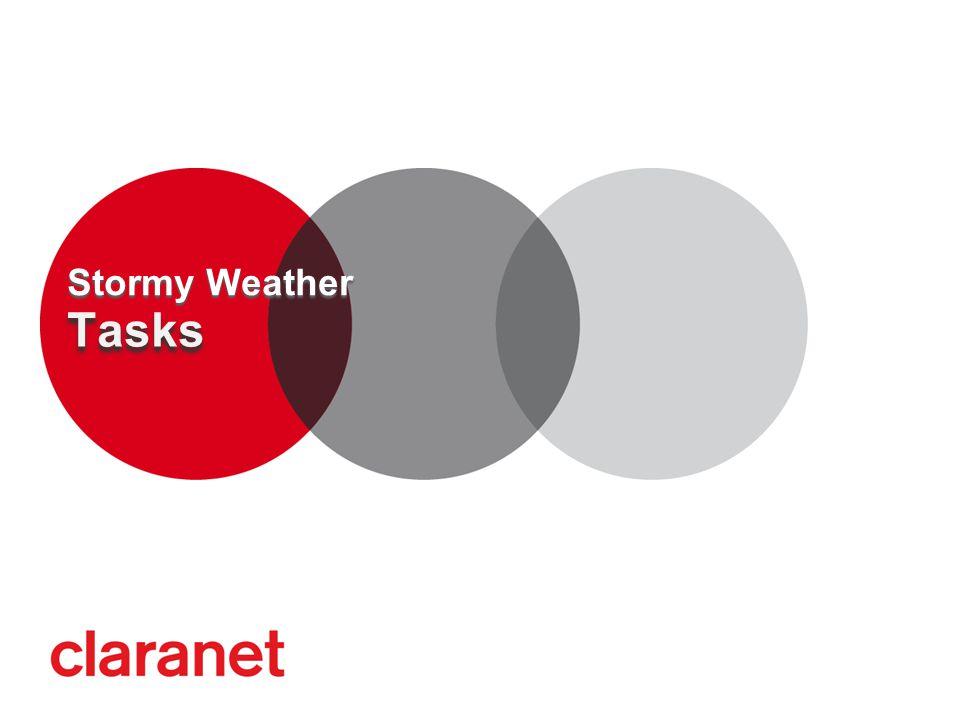 Tasks Stormy Weather