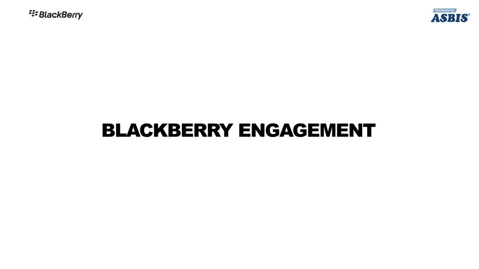 BLACKBERRY ENGAGEMENT