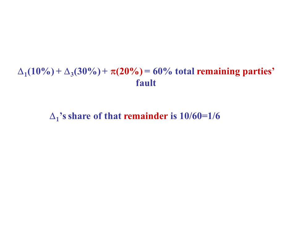  1 's share of that remainder is 10/60=1/6