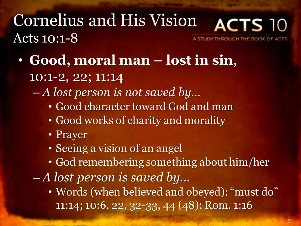 God remembers His promise, 10:4-8 (Gen.12:3; 22:18) God remembers His promise, 10:4-8 (Gen.