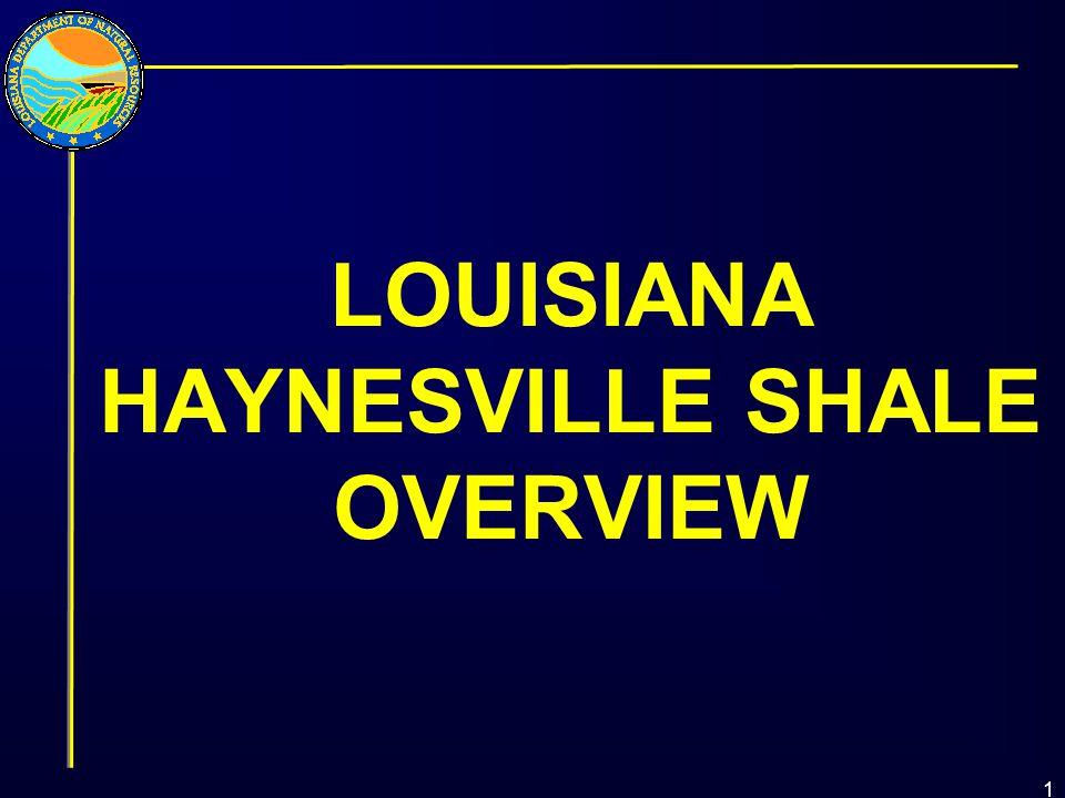 LOUISIANA HAYNESVILLE SHALE OVERVIEW 1