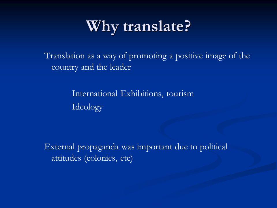 Why translate.