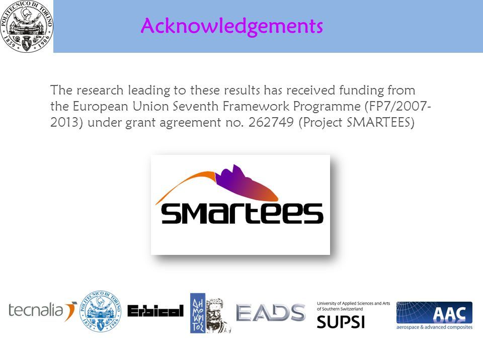 The research leading to these results has received funding from the European Union Seventh Framework Programme (FP7/2007- 2013) under grant agreement no.