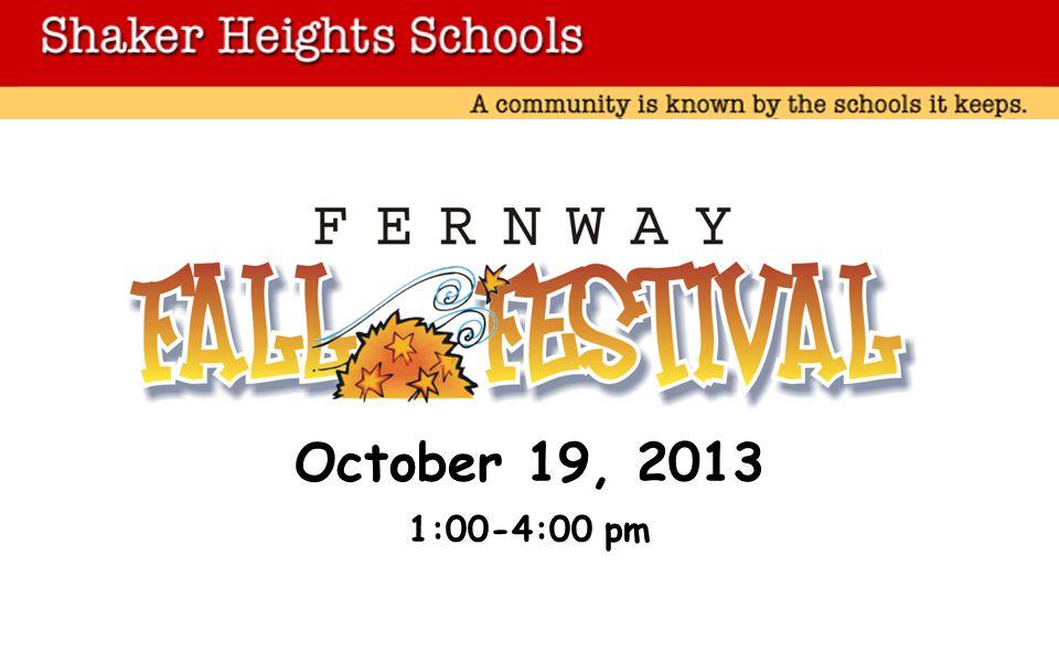 October 19, 2013 1:00-4:00 pm