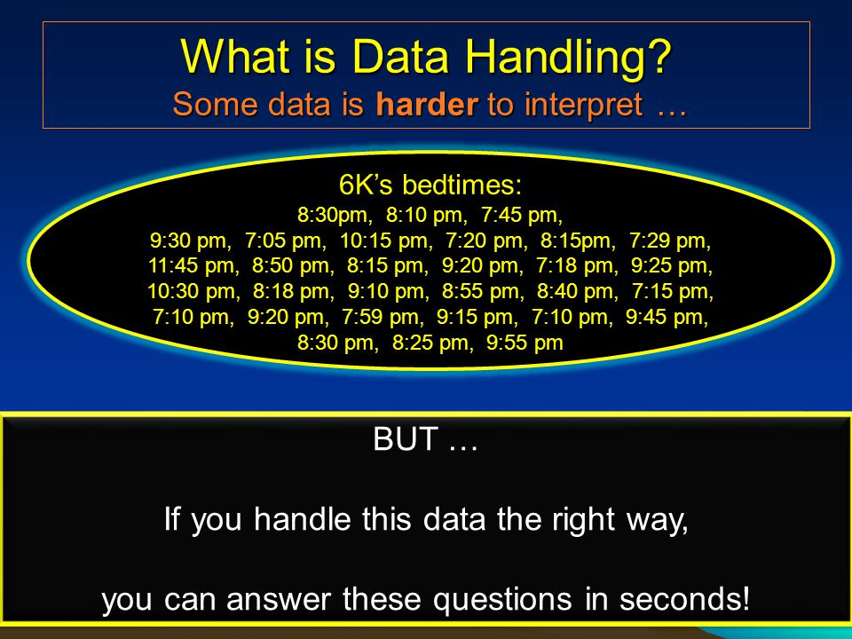 What is Data Handling.