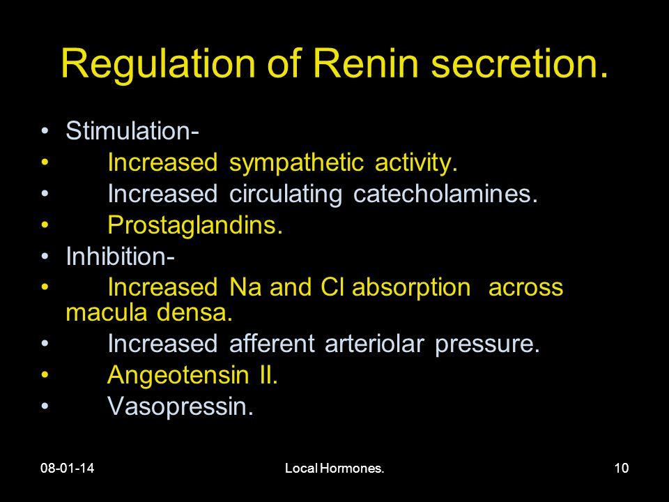 08-01-14Local Hormones.10 Regulation of Renin secretion.