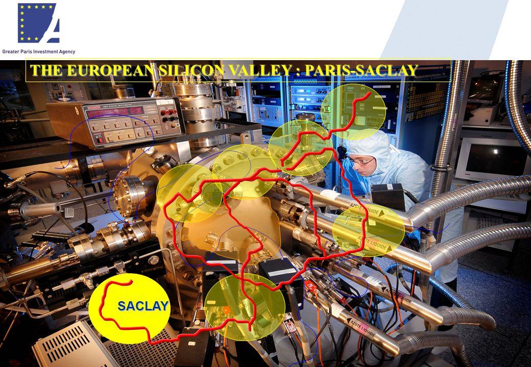 30 SACLAY THE EUROPEAN SILICON VALLEY : PARIS-SACLAY