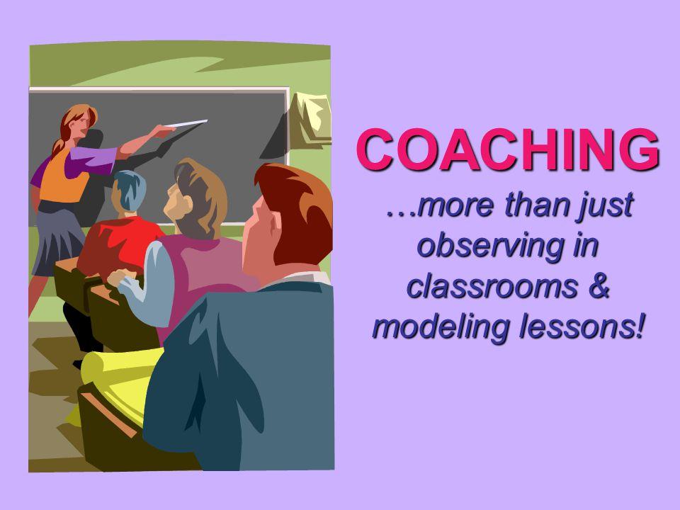 The Observation Non-Form Teacher ____________________ Grade or Class ________ Date _________ Coach _______________________ Start time _________End time _________ Observation Focus: _______________________________________________ _______________________________________________________________ Teacher BehaviorsStudent Behaviors