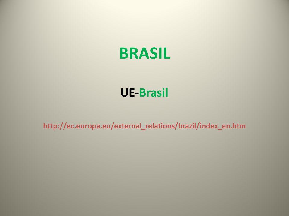 BRASIL UE-Brasil http://ec.europa.eu/external_relations/brazil/index_en.htm