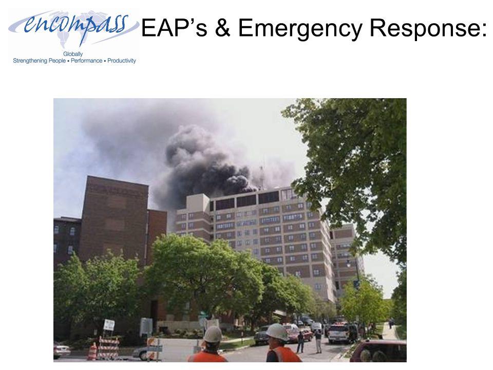 EAP's & Emergency Response: