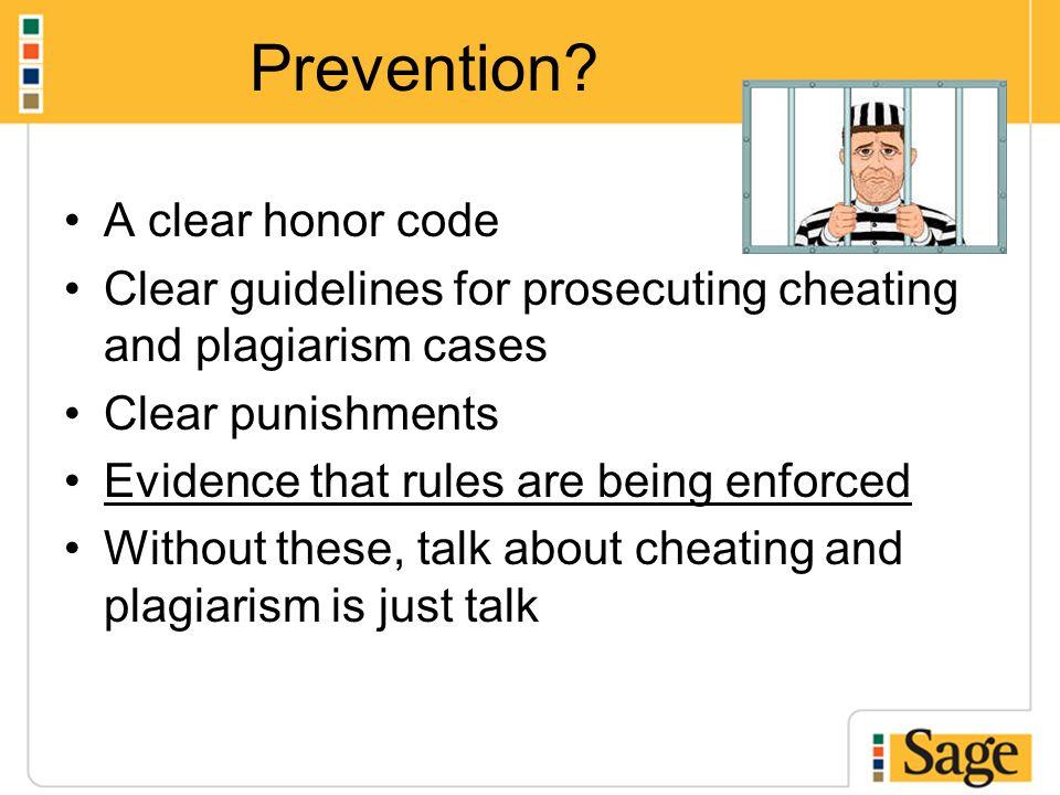 Prevention.