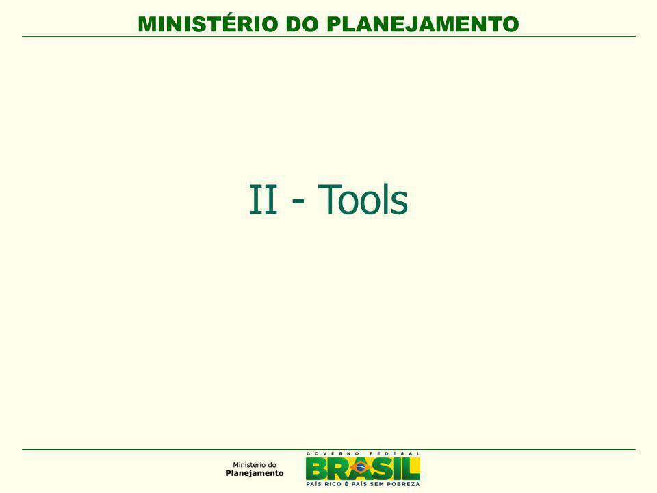 MINISTÉRIO DO PLANEJAMENTO II - Tools