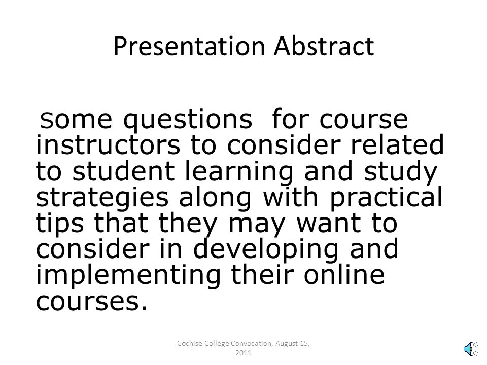 Helping Online Students Do Better Academically with Useful Learning & Study Strategies.