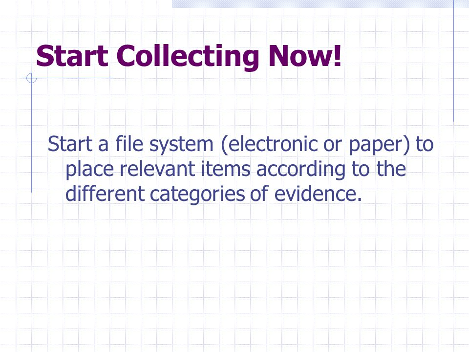 Start Collecting Now.