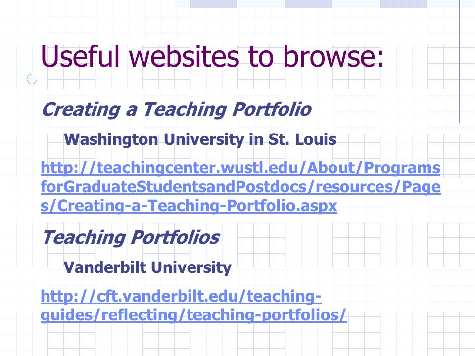 What is a teaching portfolio.