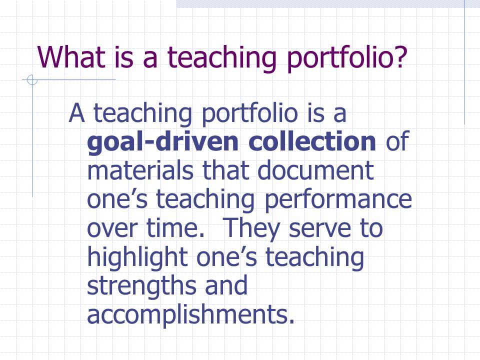 Teaching Materials… Sample syllabi, handouts Course/program development materials Organize by course.