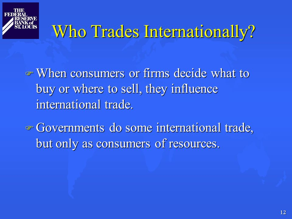 12 Who Trades Internationally.