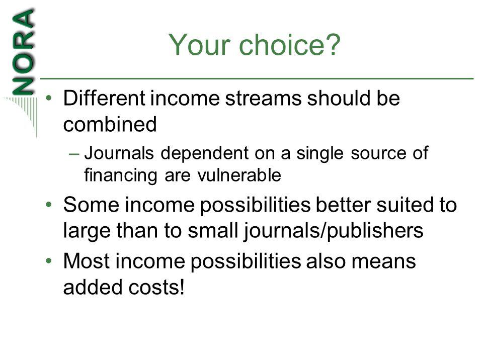 Your choice.