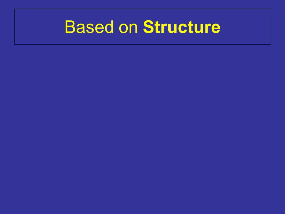 Based on Structure