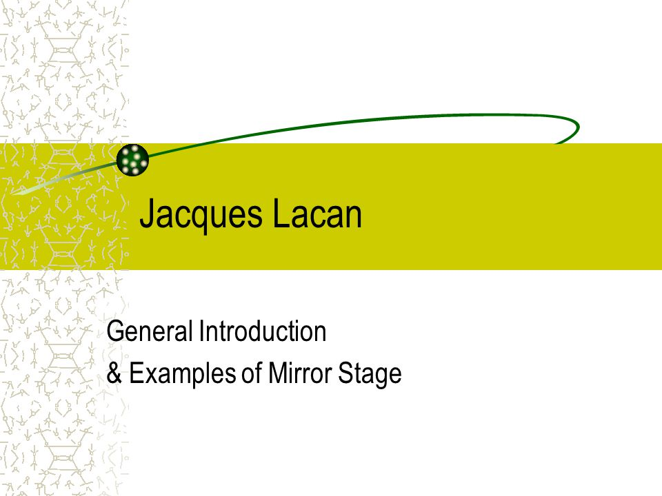 Uses of Mirror: Some examples 3.