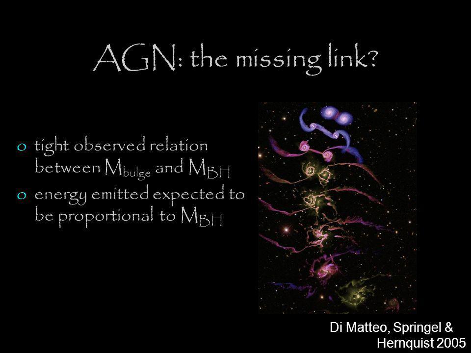 AGN: the missing link.