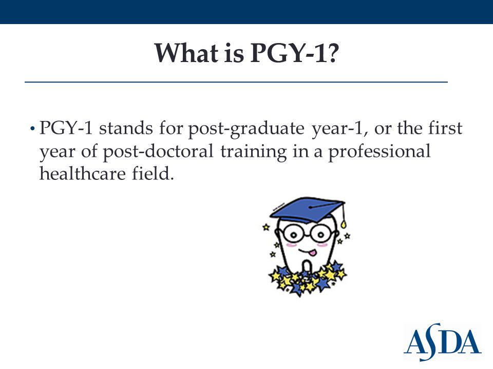 What is PGY-1.