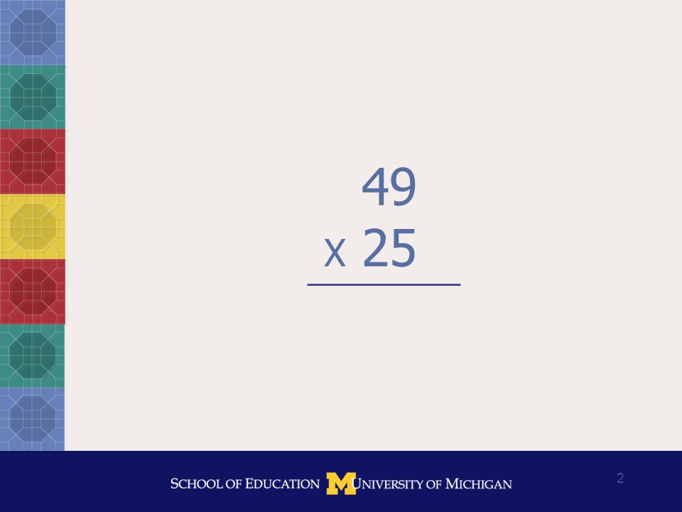 3 What mathematical steps produced each of these answers?