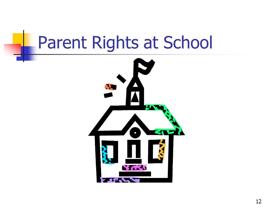 12 Parent Rights at School