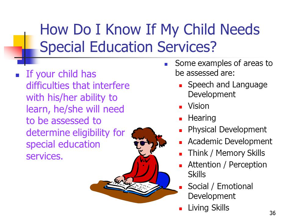 36 How Do I Know If My Child Needs Special Education Services.