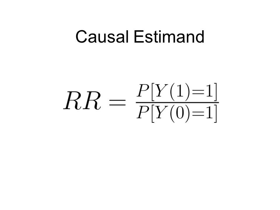 Causal Estimand