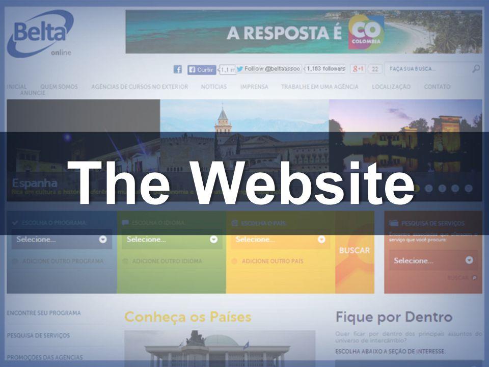 The WebsiteThe Website
