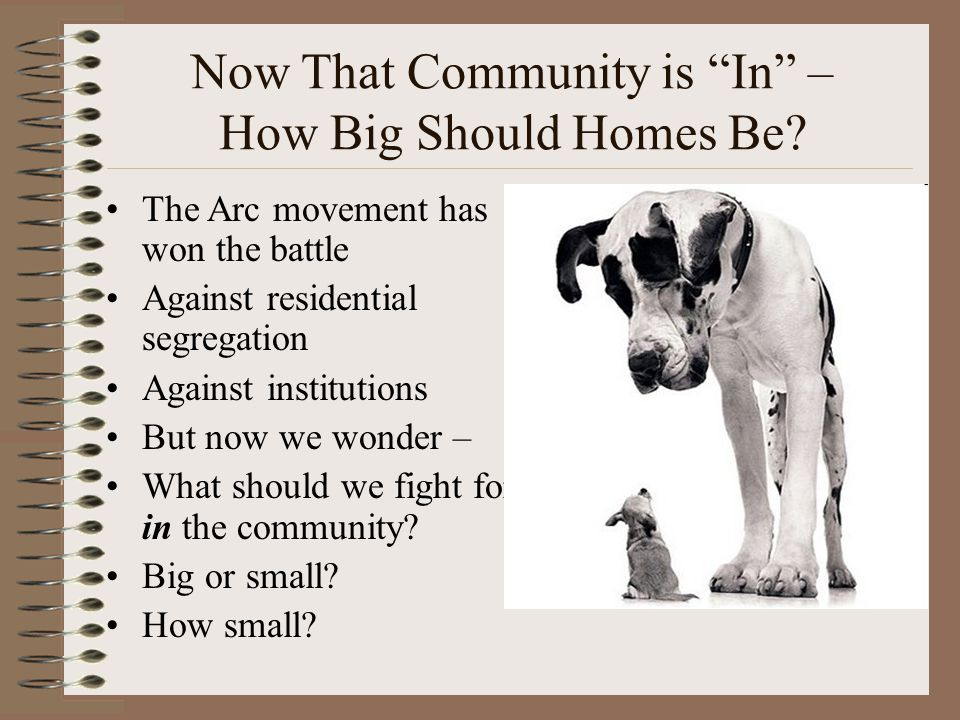 Why Do We Think We Know That Families Believe Community Living Is A Quality-Enhancing Approach