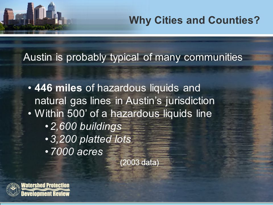 Why Cities and Counties.