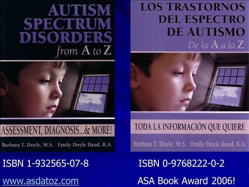 ISBN 1-932565-07-8 ISBN 0-9768222-0-2 www.asdatoz.comwww.asdatoz.com ASA Book Award 2006!