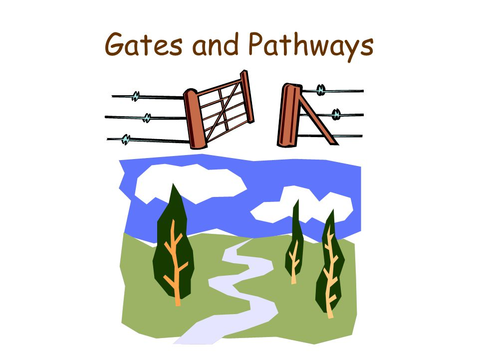 Gates and Pathways