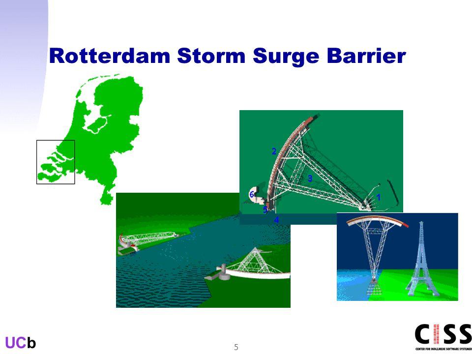 UCb 5 Rotterdam Storm Surge Barrier