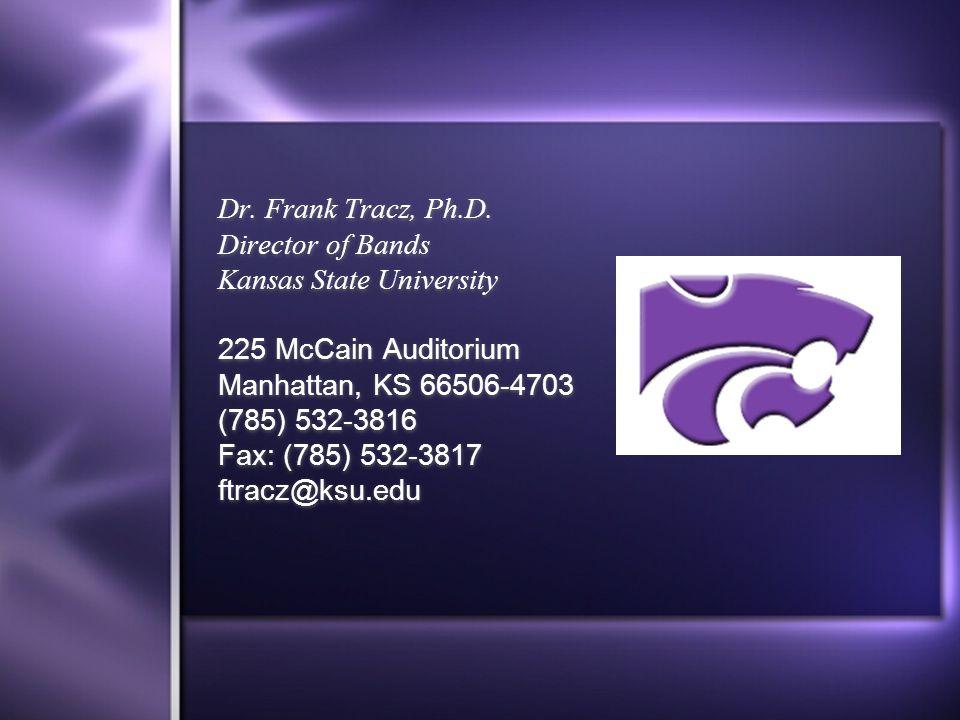 Dr. Frank Tracz, Ph.D.