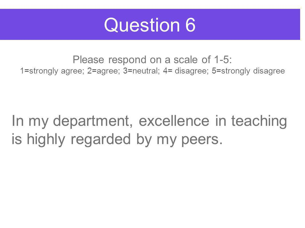 Question 1 Active learning strategies enable students to learn science better than passive lectures.