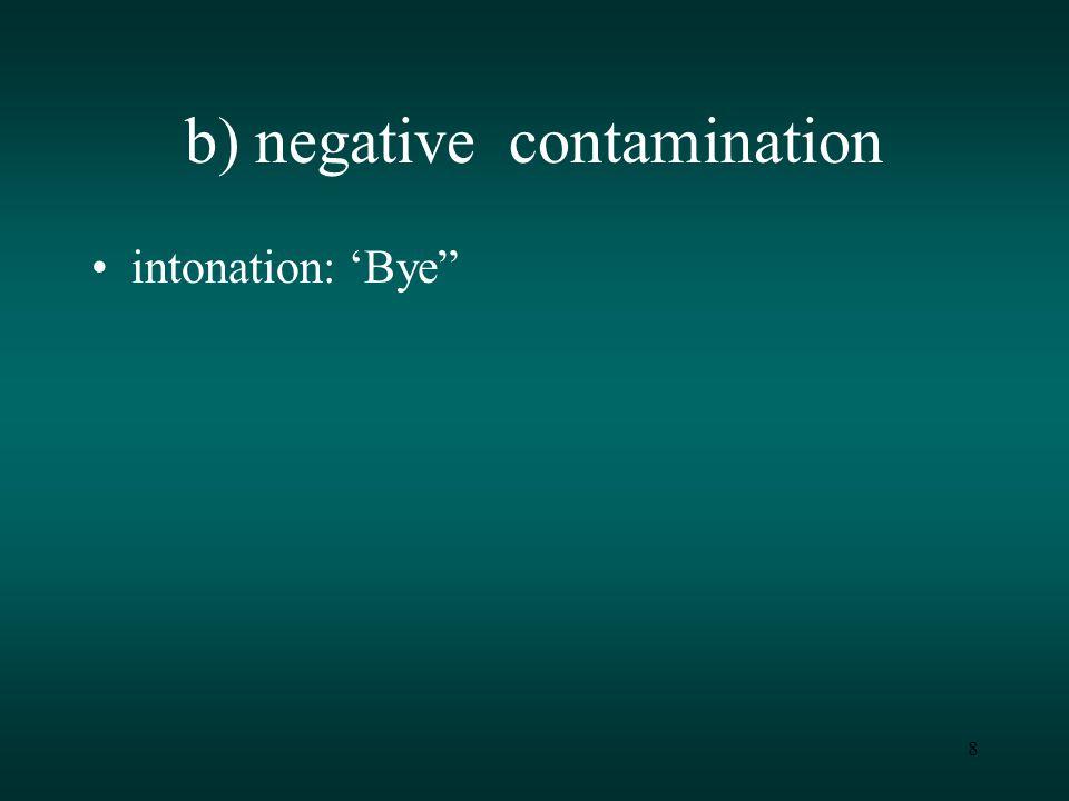 8 intonation: 'Bye