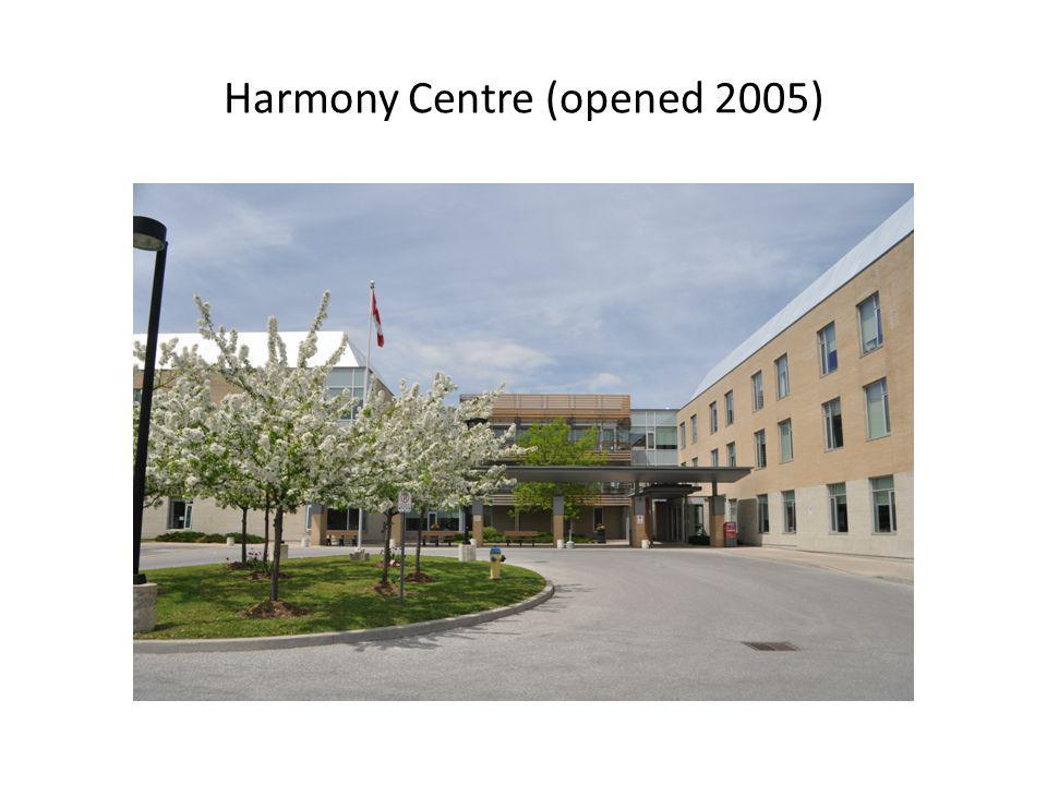 Harmony Centre (opened 2005)