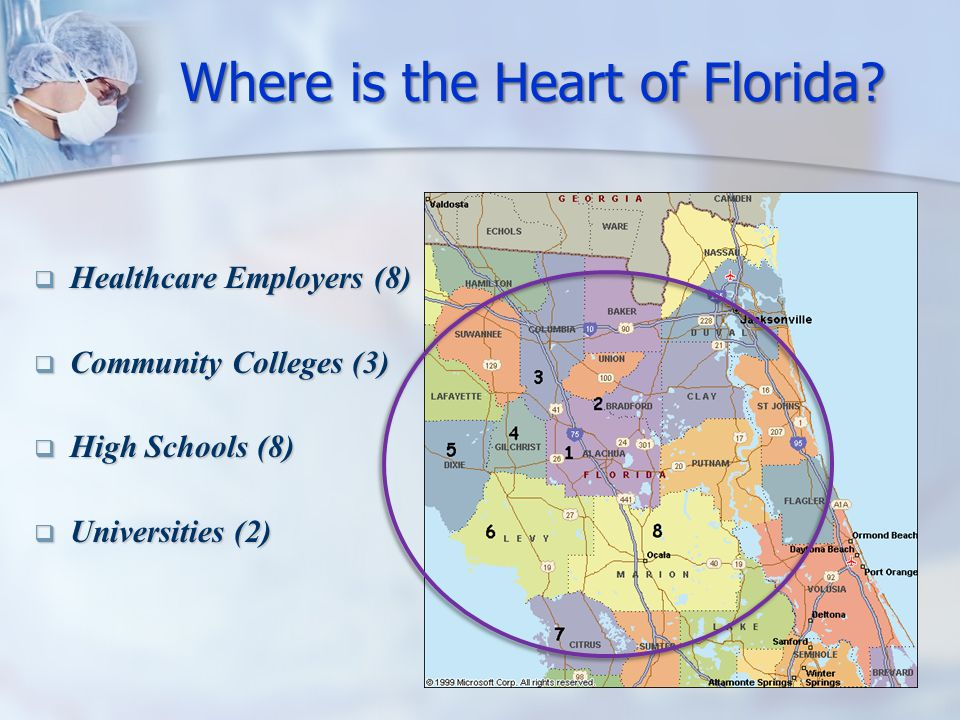 Where is the Heart of Florida.