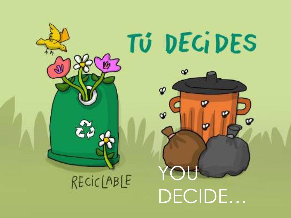 YOU DECIDE…