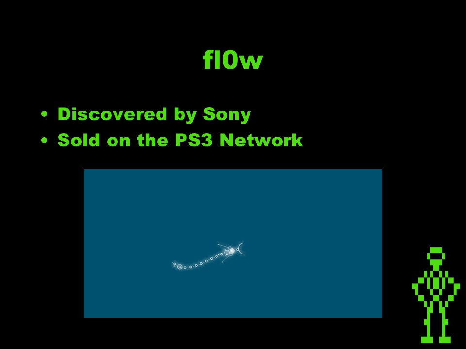 fl0w Discovered by Sony Sold on the PS3 Network