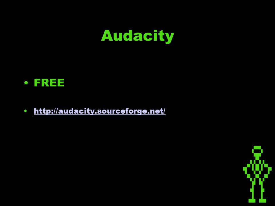 FREE http://audacity.sourceforge.net/