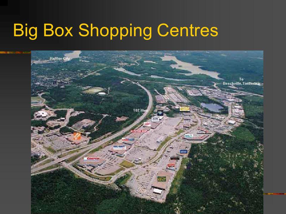 Big Box Shopping Centres