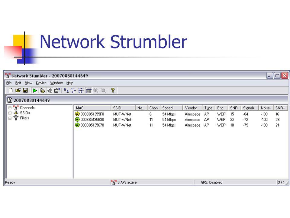 Network Strumbler