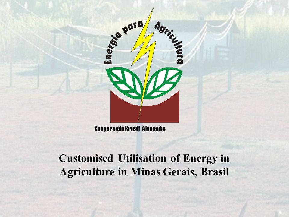 Customised Utilisation of Energy in Agriculture in Minas Gerais, Brasil Cooperação Brasil-Alemanha
