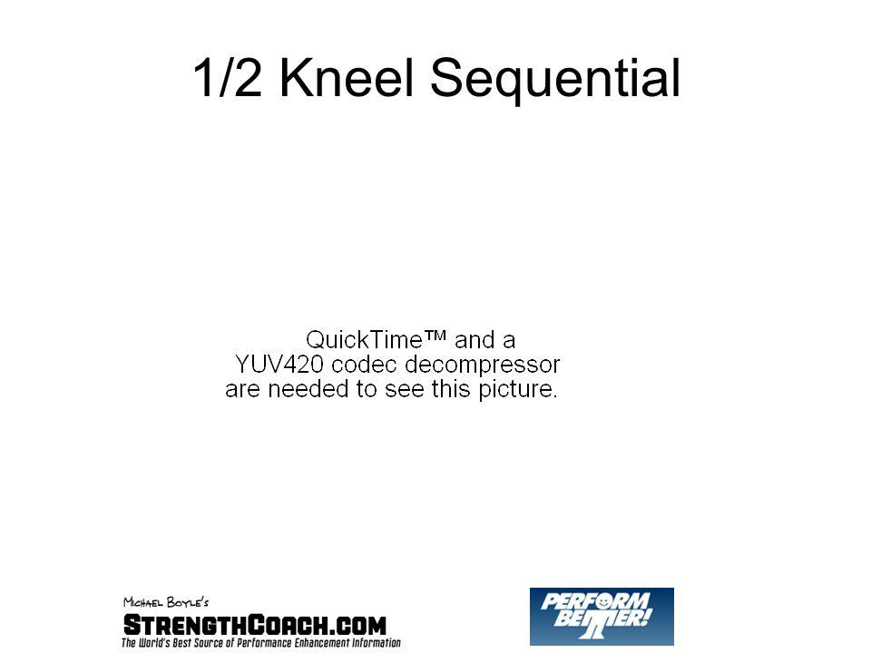 1/2 Kneel Sequential